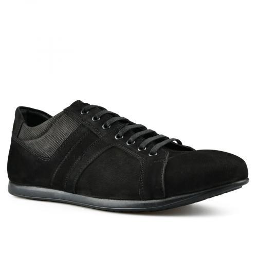 мъжки ежедневни обувки черни 0144273