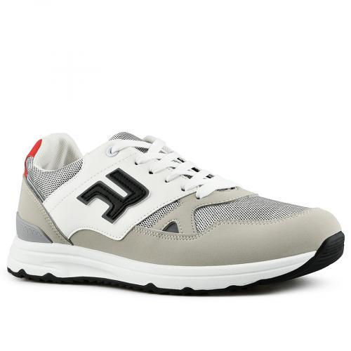 мъжки ежедневни обувки бели 0142624