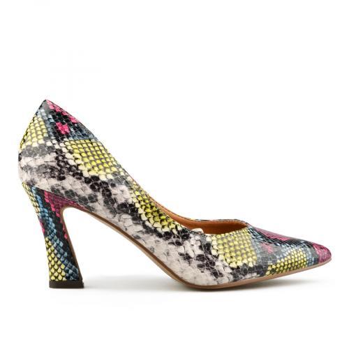 дамски елегантни обувки цветни 0141688
