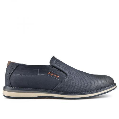 мъжки ежедневни обувки сини 0136600
