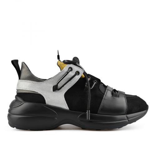 дамски ежедневни обувки черни 0138443