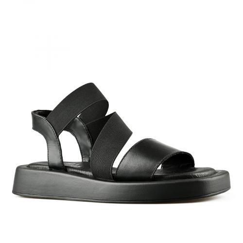 дамски ежедневни сандали черни 0144504