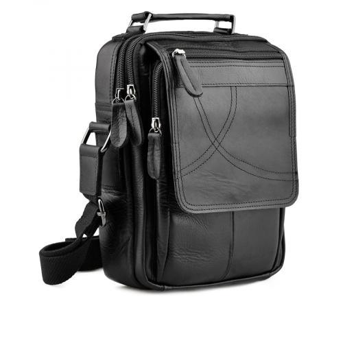 мъжка ежедневна чанта черна 0138058