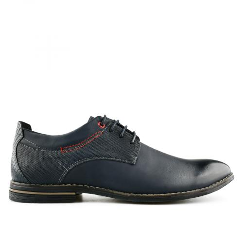 мъжки ежедневни обувки сини 0140633