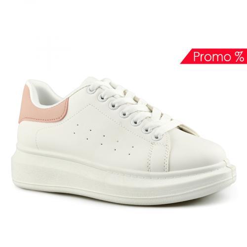 дамски ежедневни обувки бели 0142031
