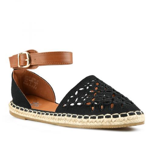 дамски ежедневни сандали черни 0144000