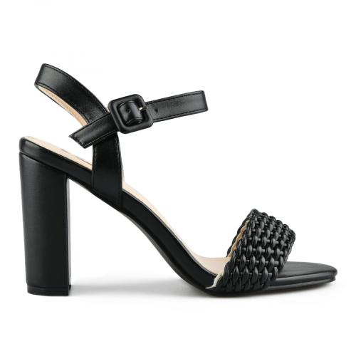 дамски елегантни сандали черни 0144364