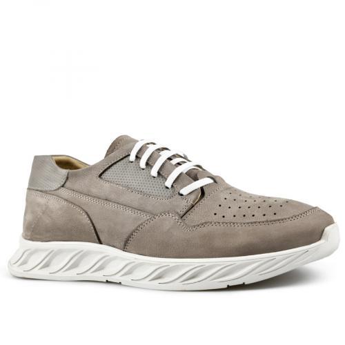 мъжки ежедневни обувки сиви 0144250