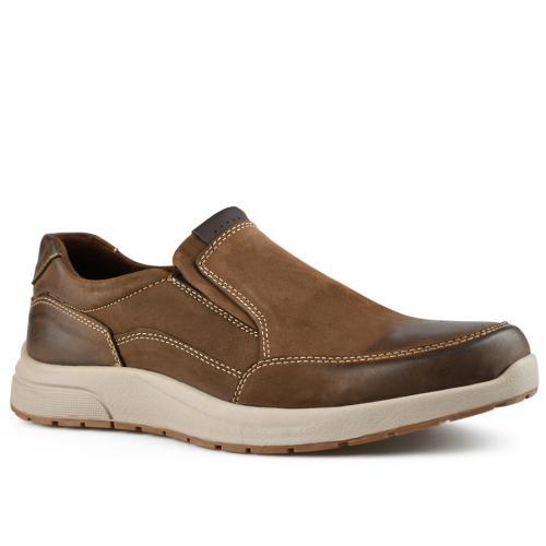 мъжки ежедневни обувки кафяви 0142112