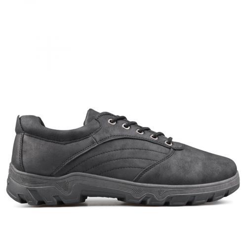 мъжки ежедневни обувки черни 0135110