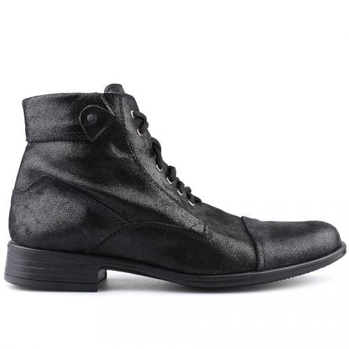 мъжки елегантни боти черни 0121424