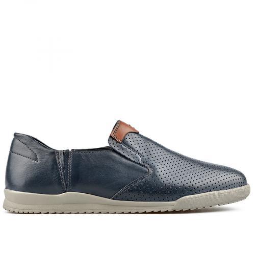мъжки ежедневни обувки сини 0138288