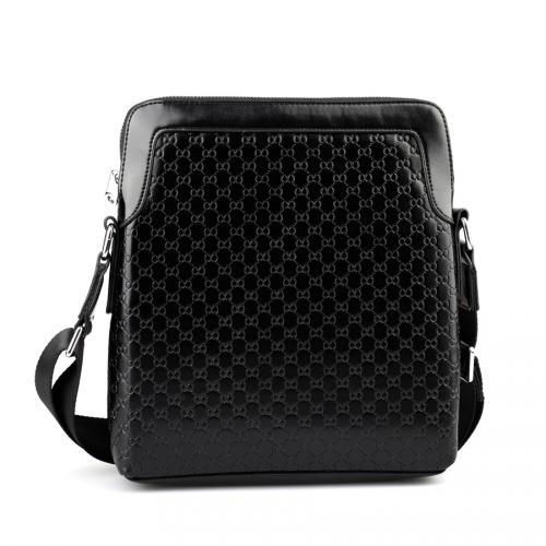 мъжки ежедневни чанта черна 0122498