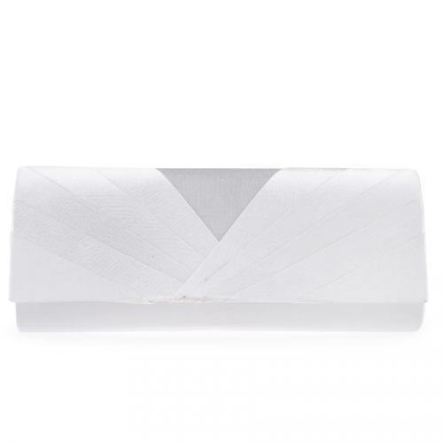 дамска елегантна чанта бяла 0123956