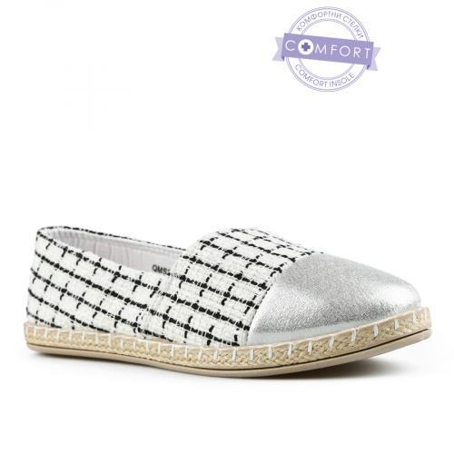 дамски ежедневни обувки бели 0142564