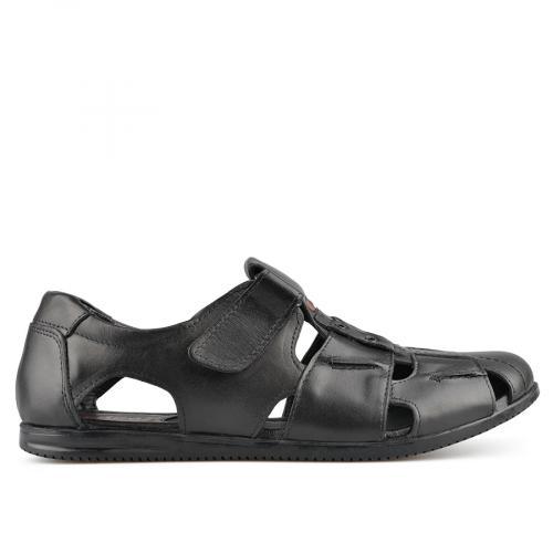 мъжки сандали черни 0138507