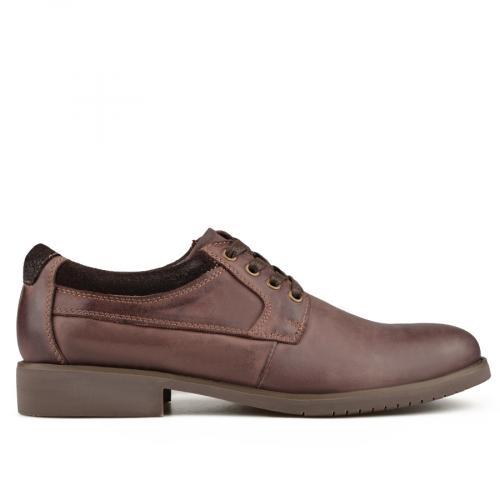 мъжки ежедневни обувки кафяви 0135791