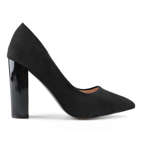 дамски елегантни обувки черни 0139148