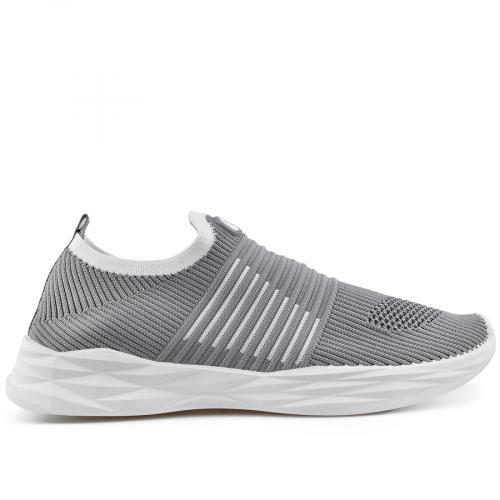 мъжки ежедневни обувки сиви 0136946