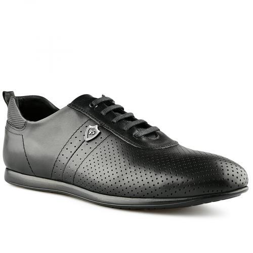 мъжки ежедневни обувки черни 0141209