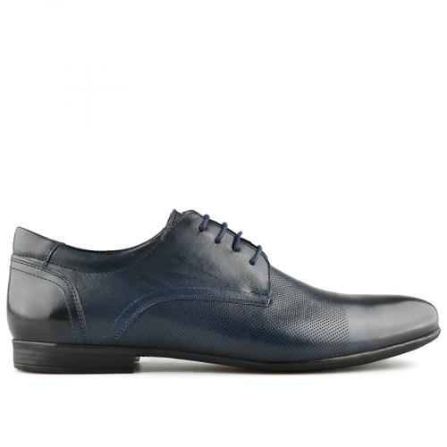 мъжки елегантни обувки тъмно сини 0141141