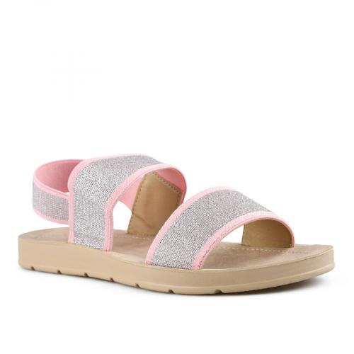 дамски ежедневни сандали сребристи 0143992