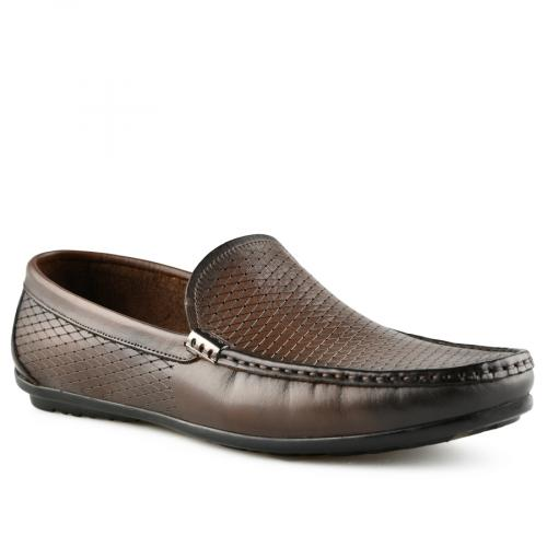 мъжки ежедневни обувки кафяви 0141236