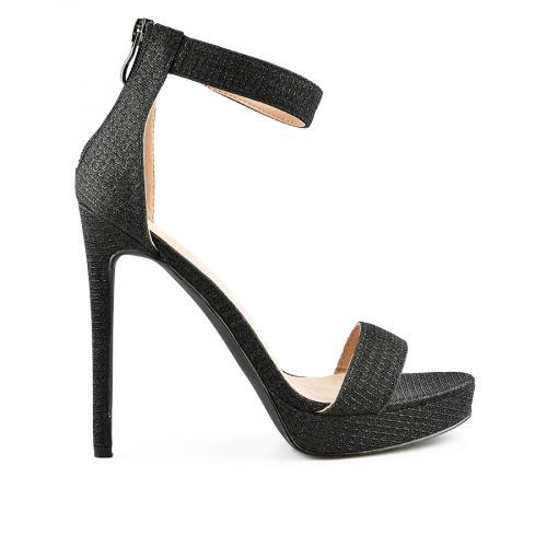 дамски елегантни сандали черни 0140474