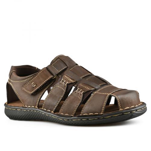 мъжки ежедневни сандали кафяви 0143319