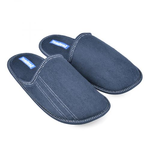 мъжки пантофи сини 0135844