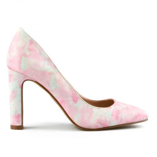 дамски елегантни обувки розови 0143106