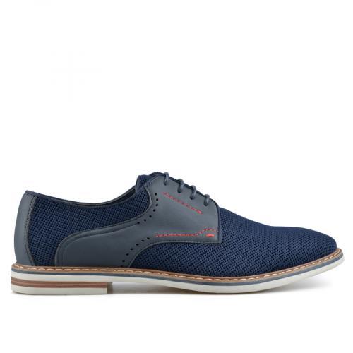 мъжки ежедневни обувки сини 0136983