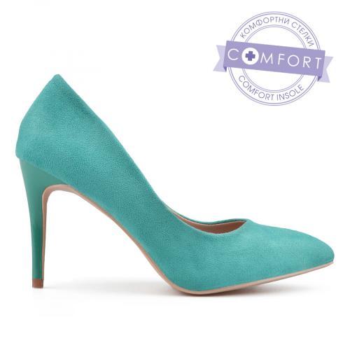 дамски елегантни обувки сини 0137469