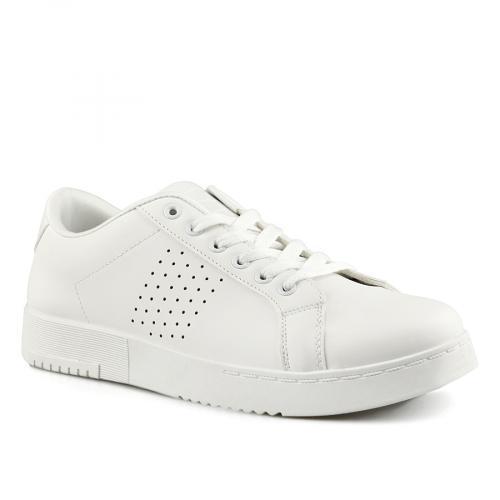 мъжки ежедневни обувки бели 0142046