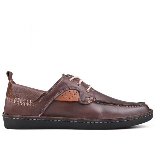 мъжки ежедневни обувки кафяви 0131012