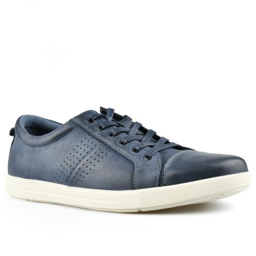 мъжки ежедневни обувки сини 0143457