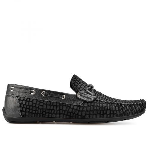 мъжки ежедневни обувки черни 0138276